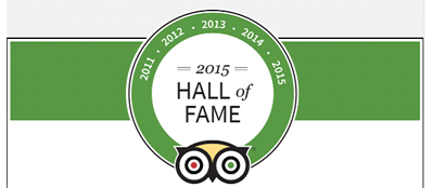 Hostaria Vecchia Rapallo in the Tripadvisor's Hall of Fame
