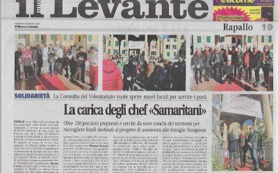 """La carica degli chef """"Samaritani"""""""